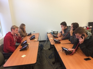Some of our CR's making phone calls for Governor Corbett before Election Day.  We made over 1,000 calls that day!